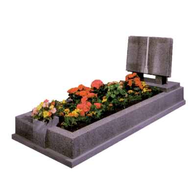 Book Bible Headstone Kerb Memorial