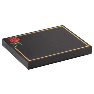 Tablet With Pin Line & Rose