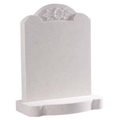 Triple Rounded Top Headstone