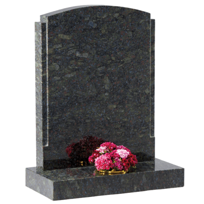 Headstone With Polished Rebates