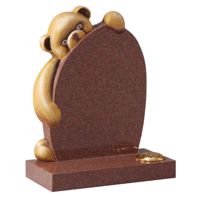 Teddy Bear Cuddles Headstone