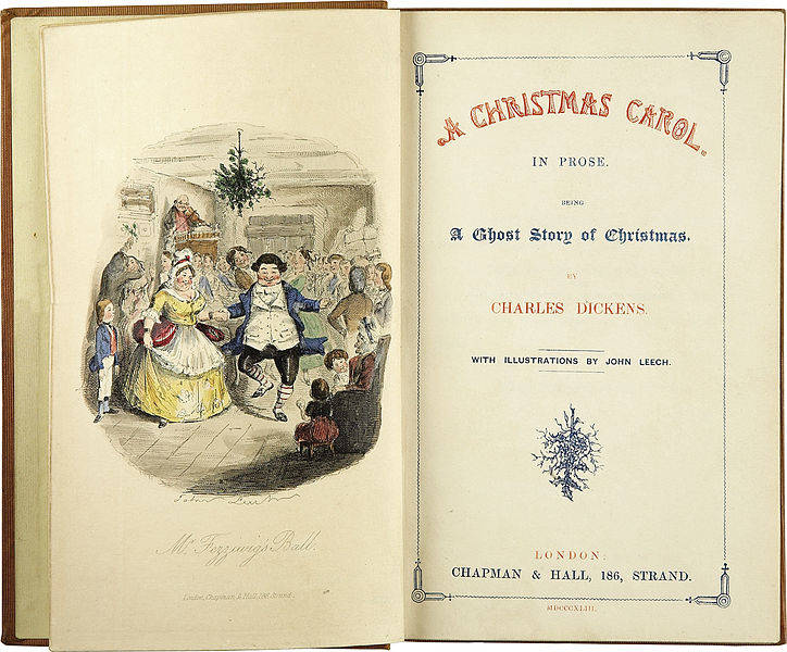 Title Page of A Christmas Carol