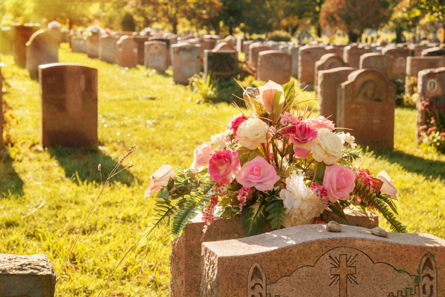 The history of headstones