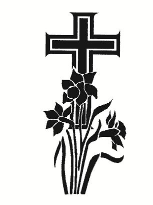 Cross and Daffodils
