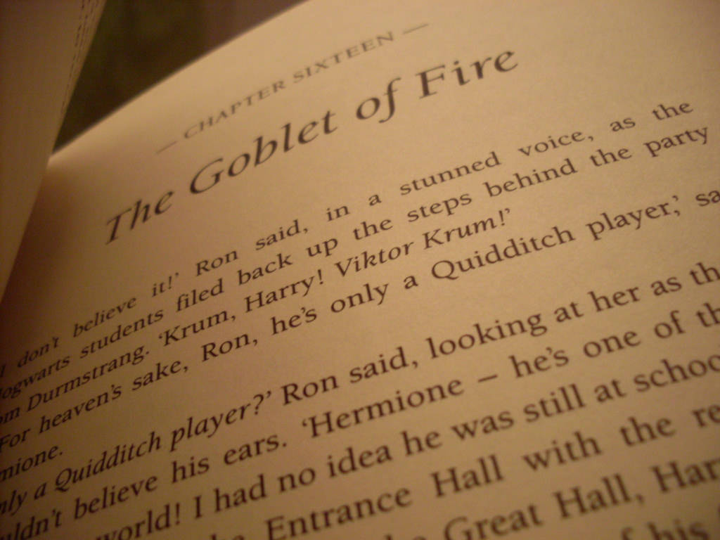 Inside The Goblet of Fire
