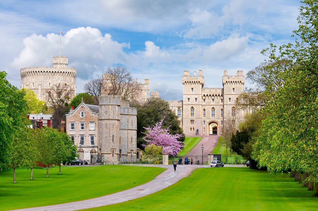 Who is buried at Windsor Castle