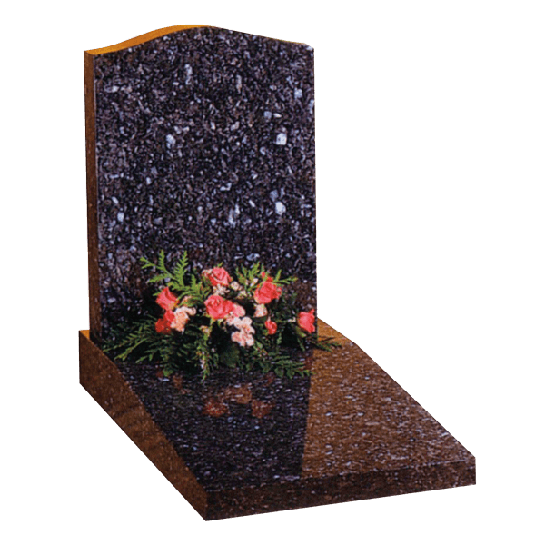 Headstone On Sloping Desk Tablet