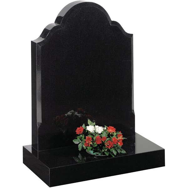 Rounded Top Headstone