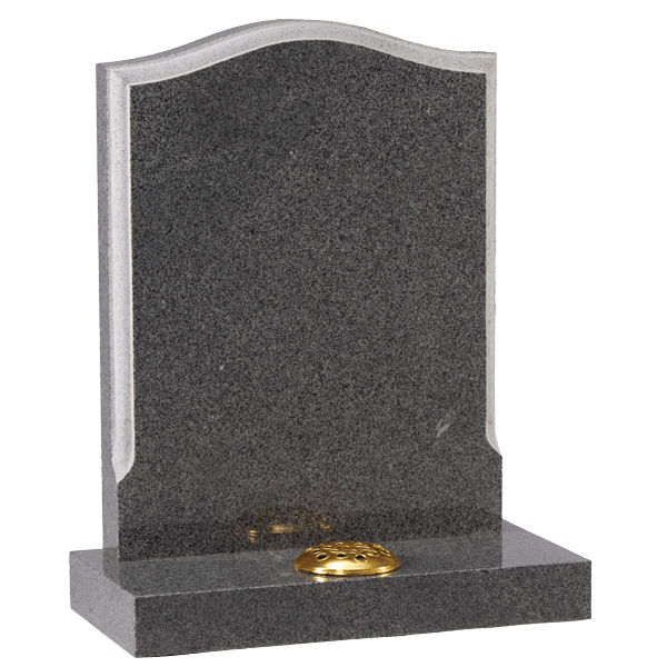 Moulded Edge Headstone