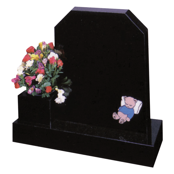 Children's Square Top Headstone