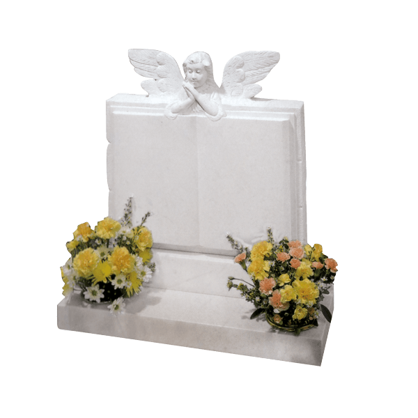Book Memorial With Angel