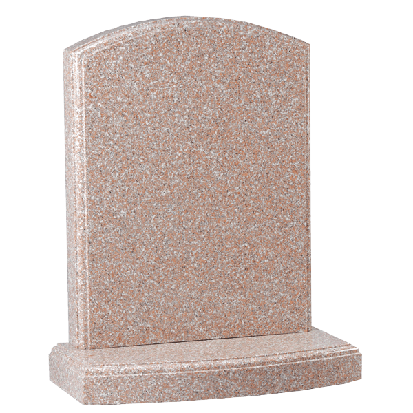 Moulded Edge Headstone & Base
