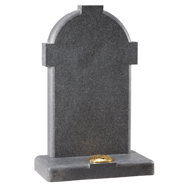 Cross Effect Headstone