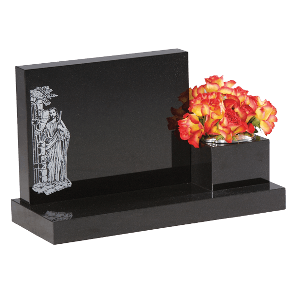 Cremation Tablet With Design