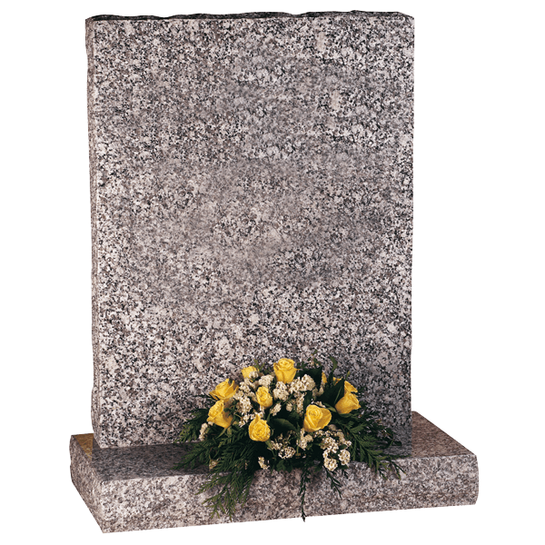 Rustic Shaped Headstone
