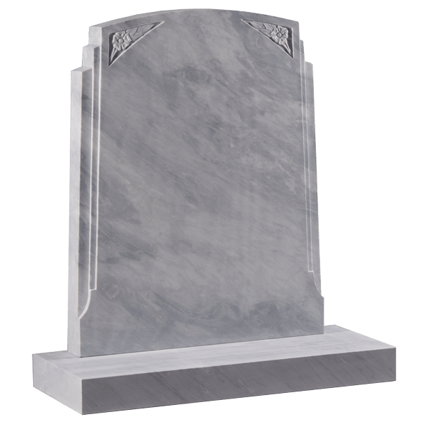 Headstone With Double Rebates