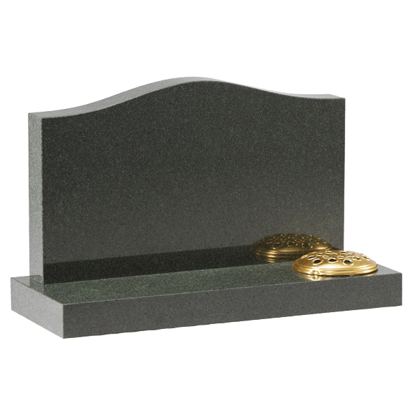Cremation Ogee Headstone & Base